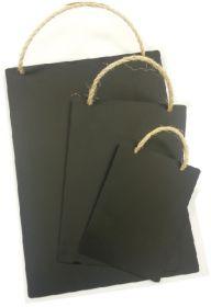A4 Rustic Hanging Blackboard - Mileta HP011