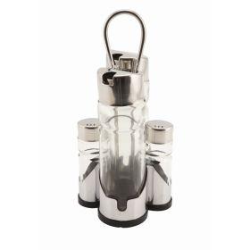 Glass Salt / Pepper Pot (2Pc Fit 4017)