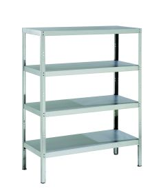 Parry Storage Racks with 4 Shelves - 600mm Deep