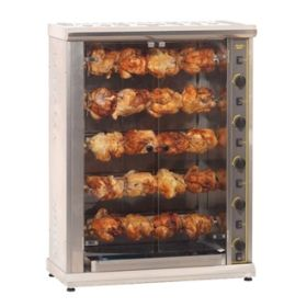 Roller Grill RBE200Q Five Spit Large Electric Rotisserie