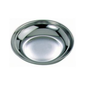 Stainless Steel Round Dish 4""