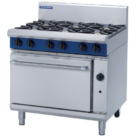 Blue Seal G506D - Gas 6 Burner Range - Hob