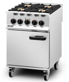 Lincat OD8006 Opus 800 - Dual Fuel 4 Burner Range