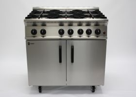 Parry GB6 Gas 6 Burner Range 40.1kW