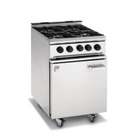 Parry P4BO - 4 Burner Gas Oven Range - LPG & NAT