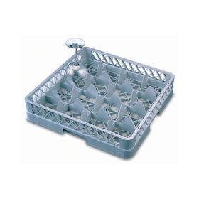 Genware 16 Compartment Glass Rack