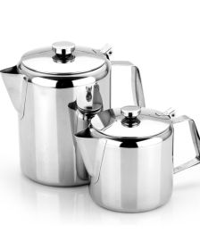 Stainless Steel 2 Cup Teapot 16oz / 0.5 Ltr - Sunnex 11130