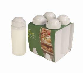 Salt Shakers 500ml (4 Pack)