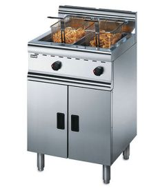 Lincat Silverlink 600 J10 N/P - Freestanding Twin Tank Gas Fryer