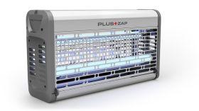 PlusZap 30 ZE127 - Stainless Steel, 30W, 80m2 - Electric Fly Killer