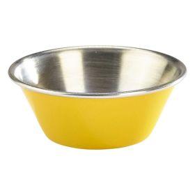 1.5oz Stainless Steel Ramekin Yellow