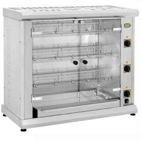 Roller Grill RBE120Q Three Spit Electric Rotisserie